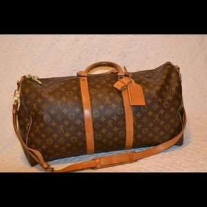Louis Vuitton keepall BANDOULIÈRE 55 dufflebag